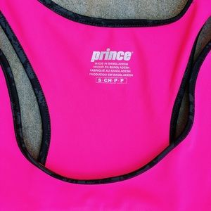 Prince Tops - Prince Pink Athletic Tank Top